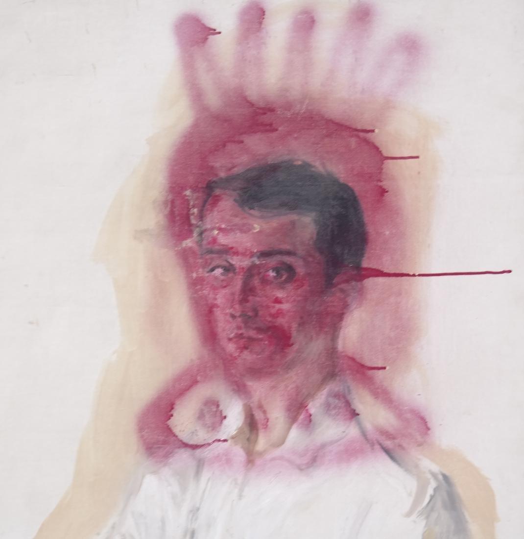 Peter Sheil, Male Portrait, Oil Canvas - 3