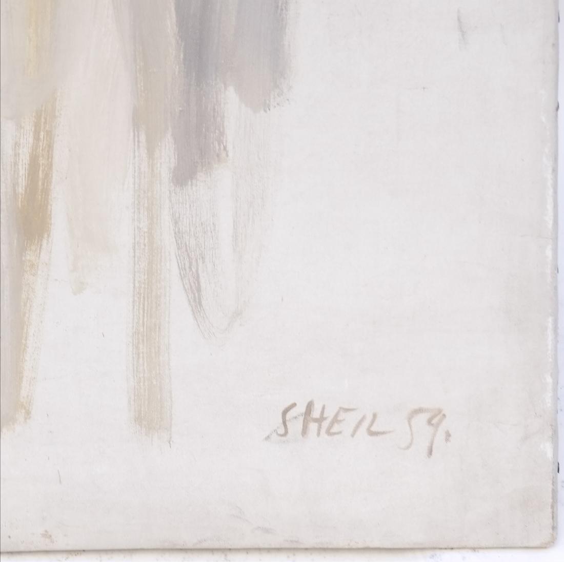 Peter Sheil, Male Portrait, Oil Canvas - 4