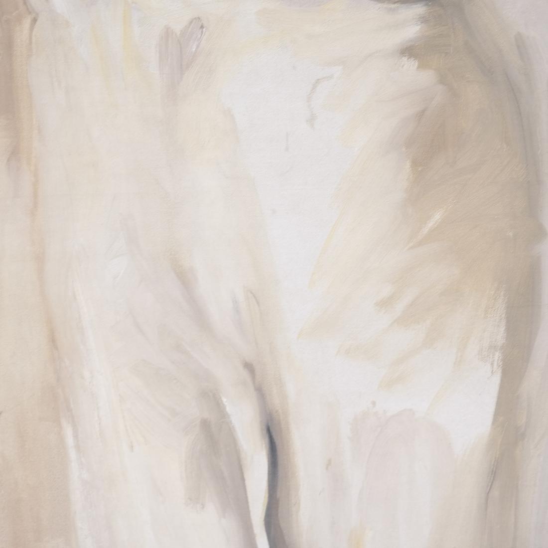 Peter Sheil, Male Portrait, Oil Canvas - 5