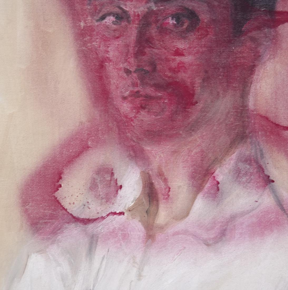 Peter Sheil, Male Portrait, Oil Canvas - 7