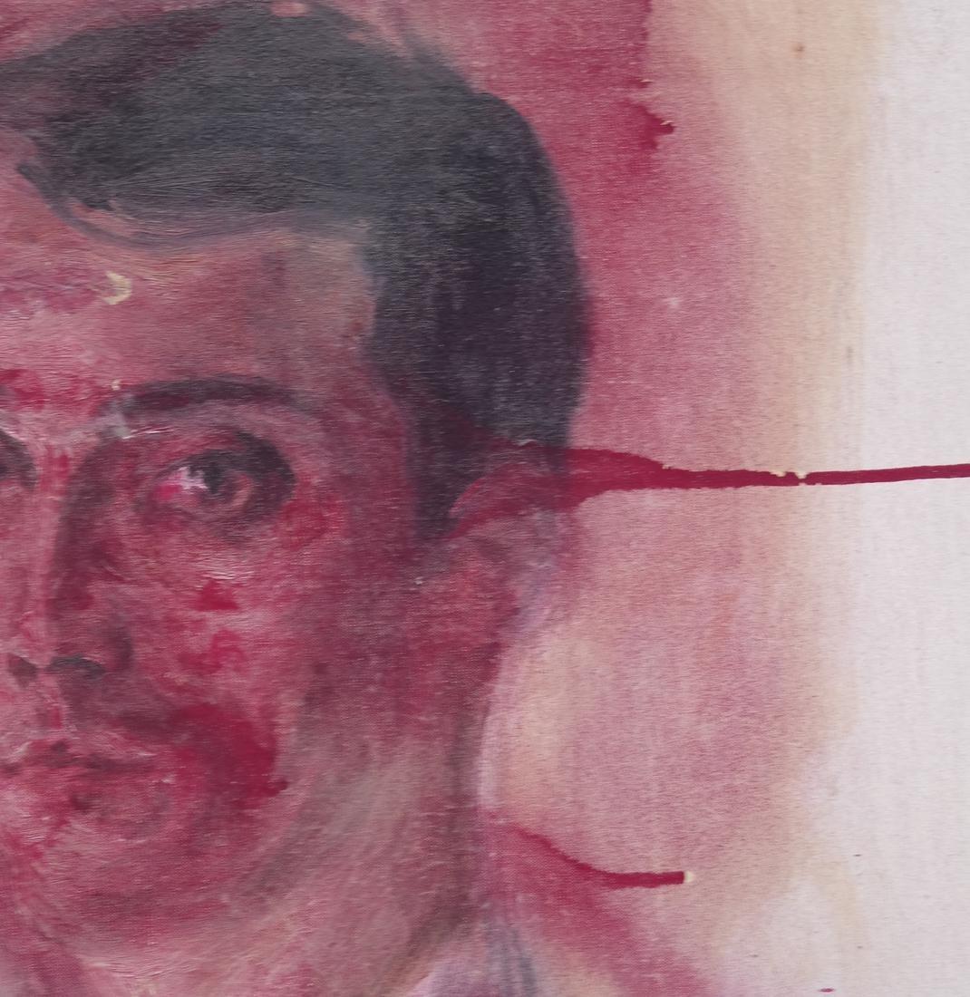 Peter Sheil, Male Portrait, Oil Canvas - 8