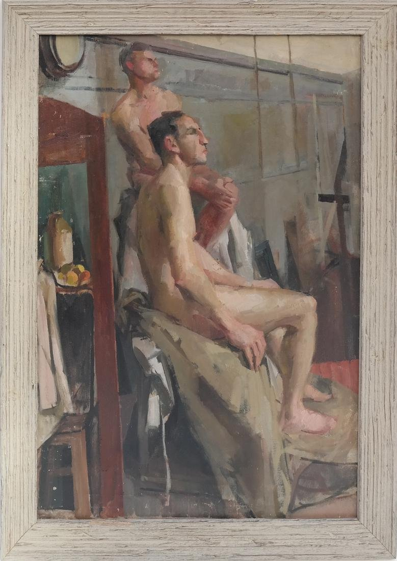Study of Two Nude Males - 2