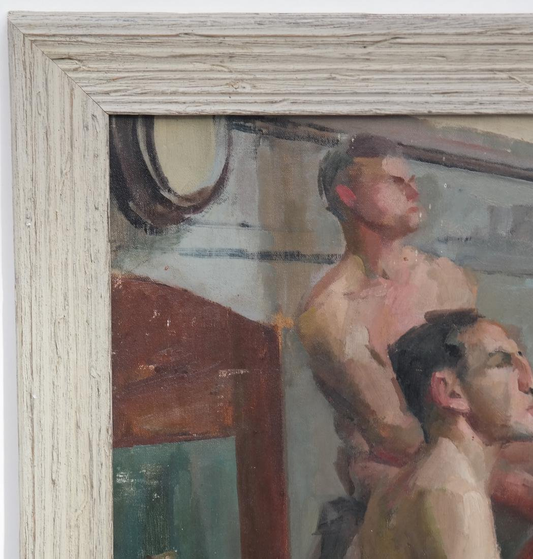 Study of Two Nude Males - 3