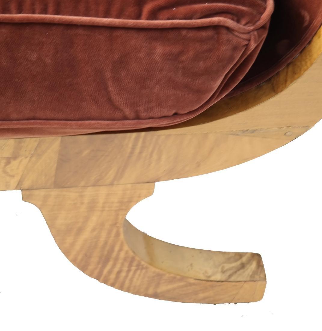 Biedermeier-Style Chaise - 3