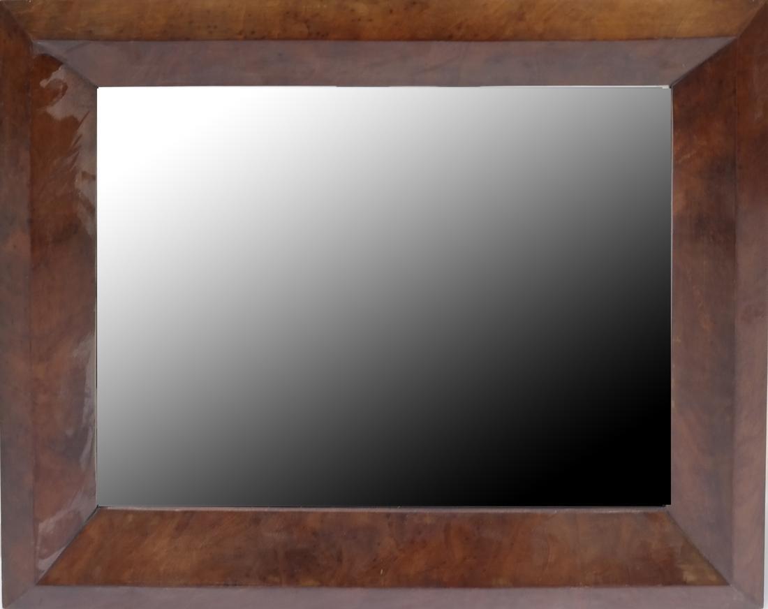 Maple Wood Framed Mirror