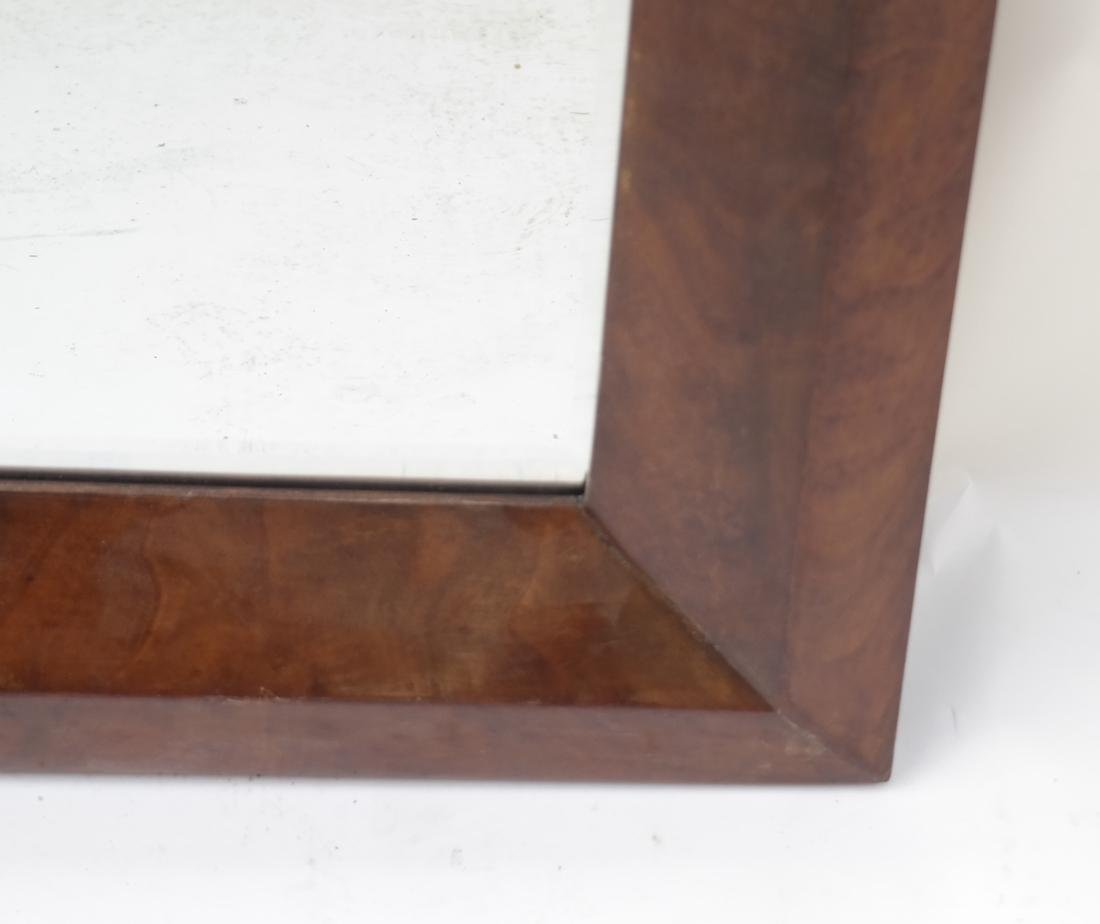 Maple Wood Framed Mirror - 2