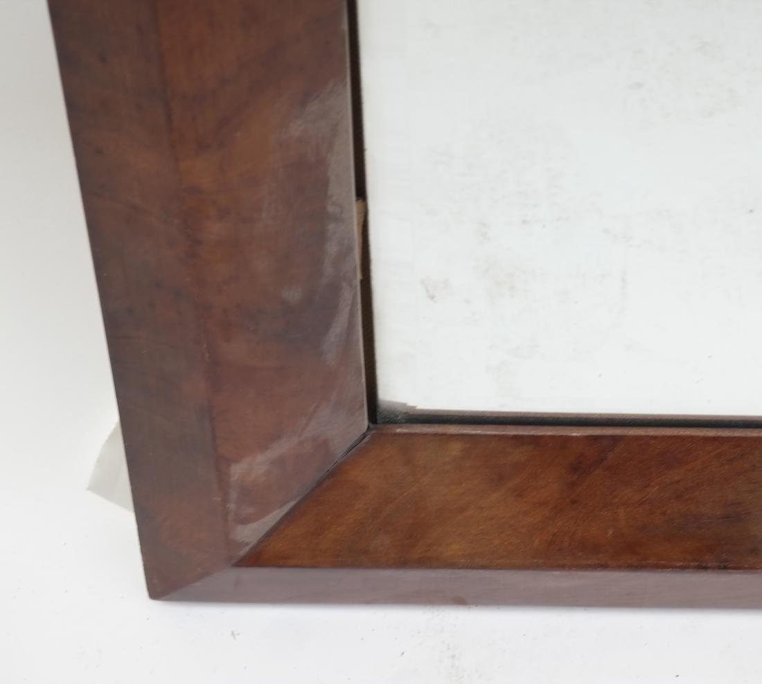 Maple Wood Framed Mirror - 3
