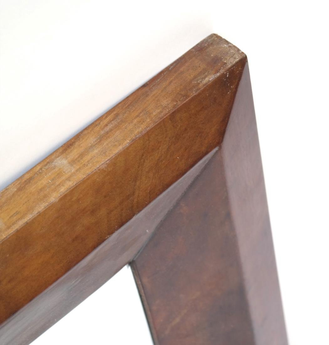 Maple Wood Framed Mirror - 4