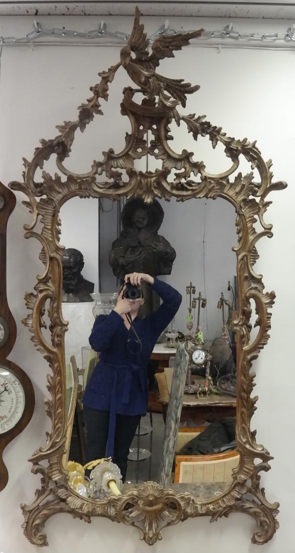 Ornate Italian Painted Mirror