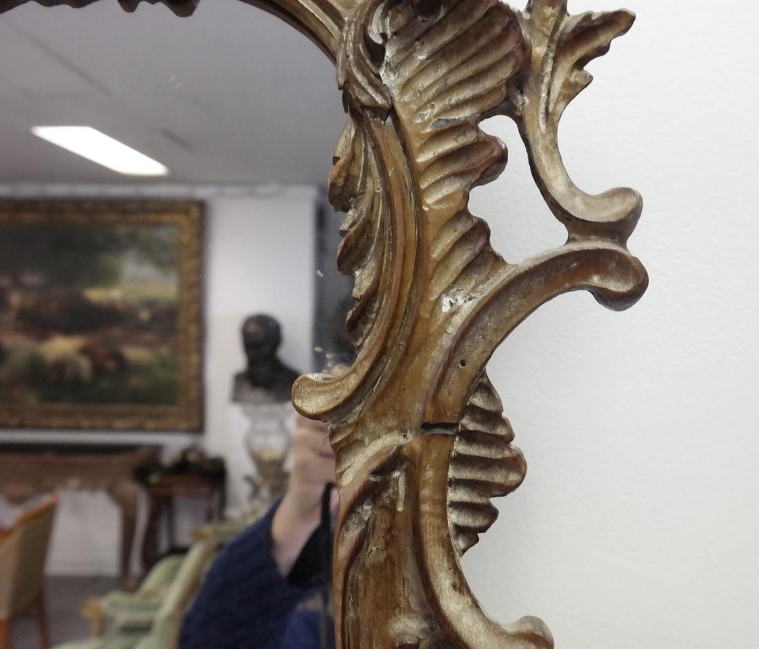 Ornate Italian Painted Mirror - 3