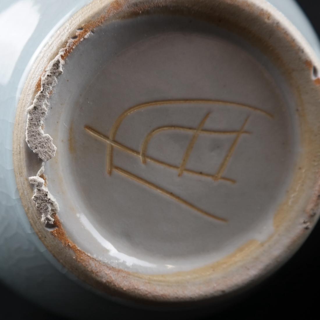Pair of Celadon-Style Vases - 5