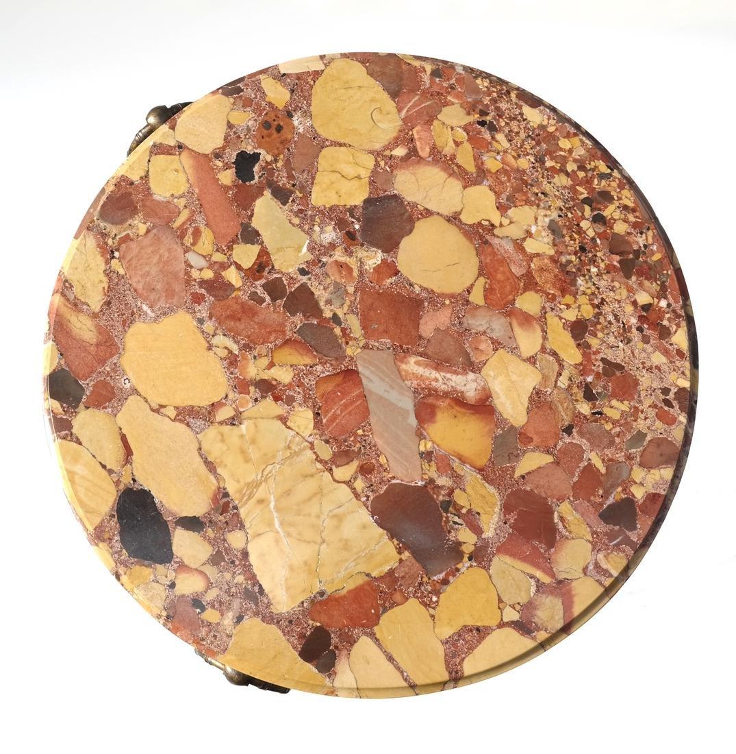 Modern Marble Top Gueridon - 4