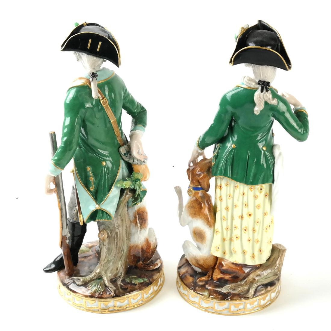 Pair of Meissen Figures - 2