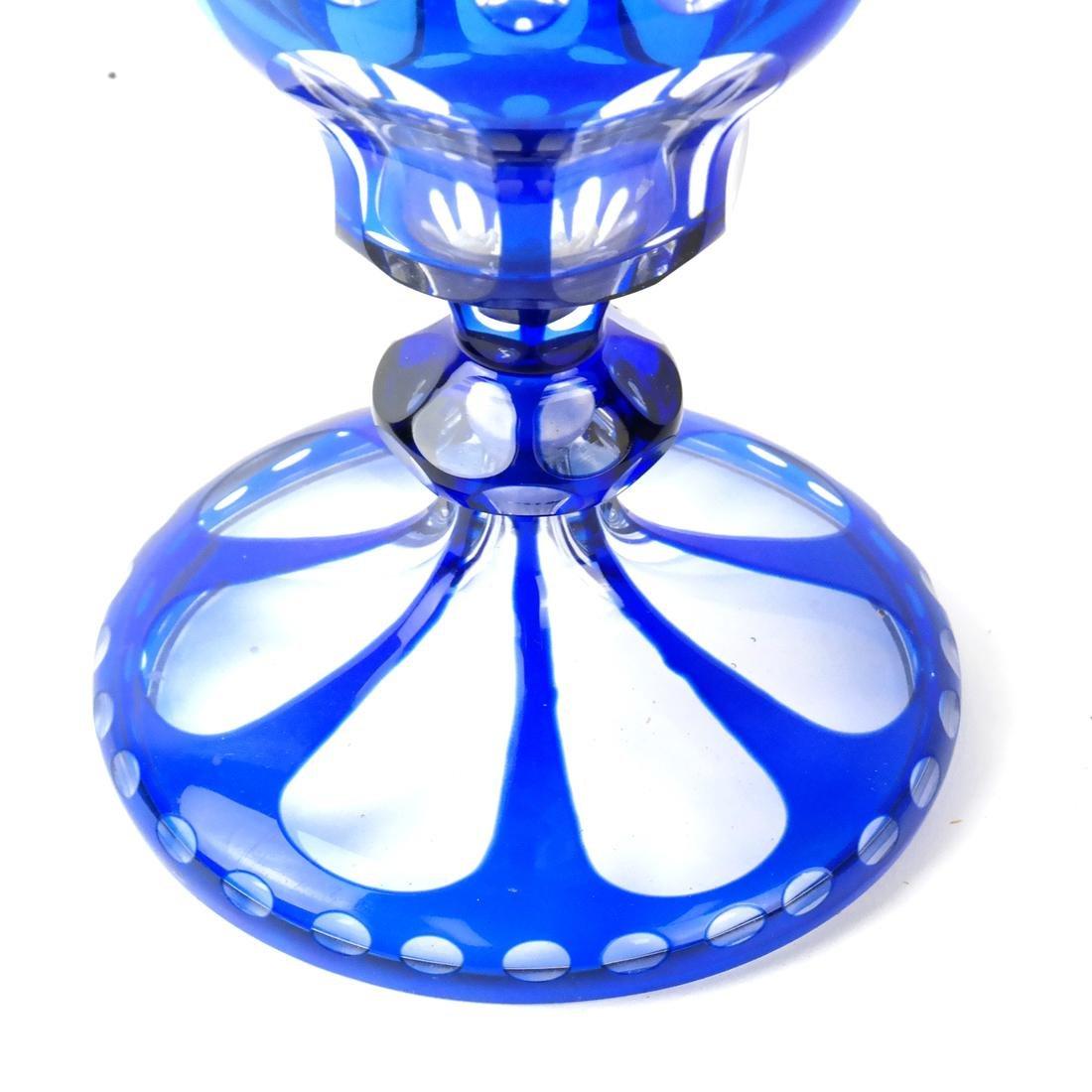 Bohemian Glass Vase - 2