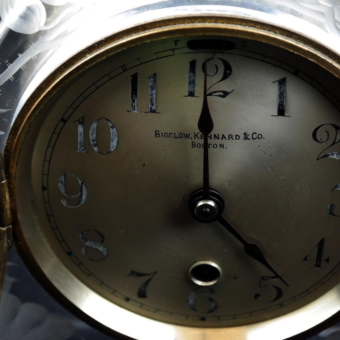 Bigelow, Kennard & Co. Mantle Clock - 4