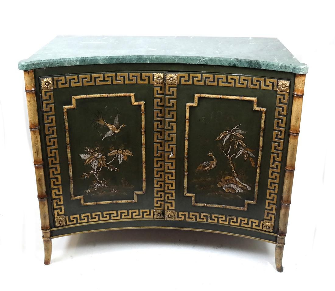Chinoiserie Concave Server