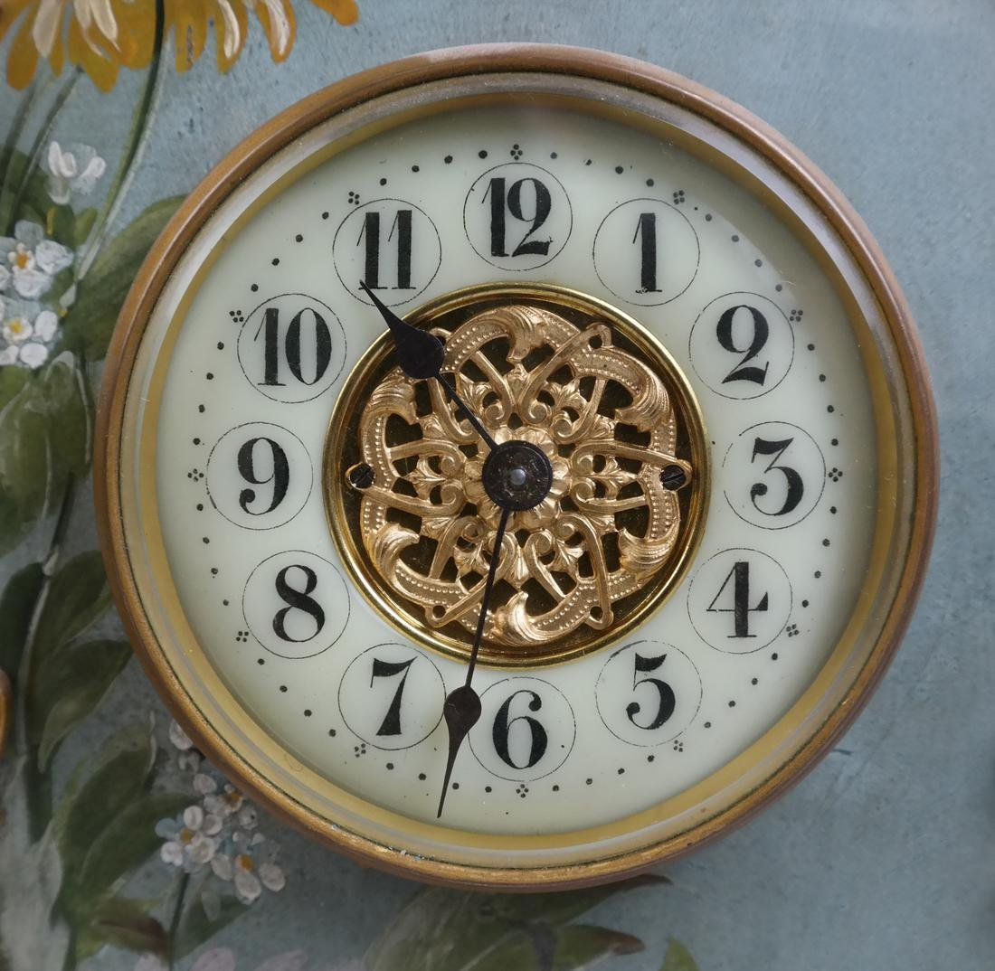 Rococo-Style Table Clock - 2