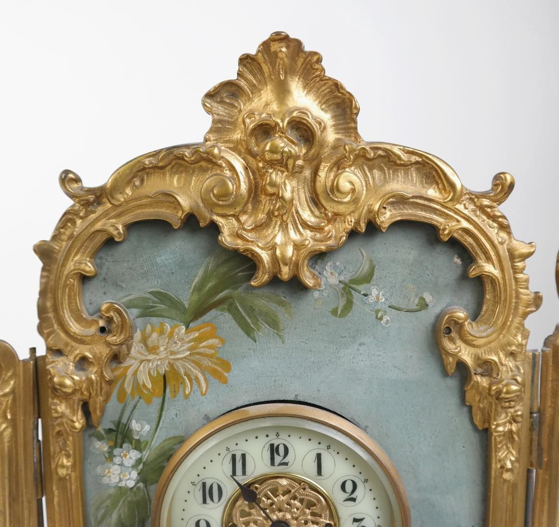 Rococo-Style Table Clock - 3