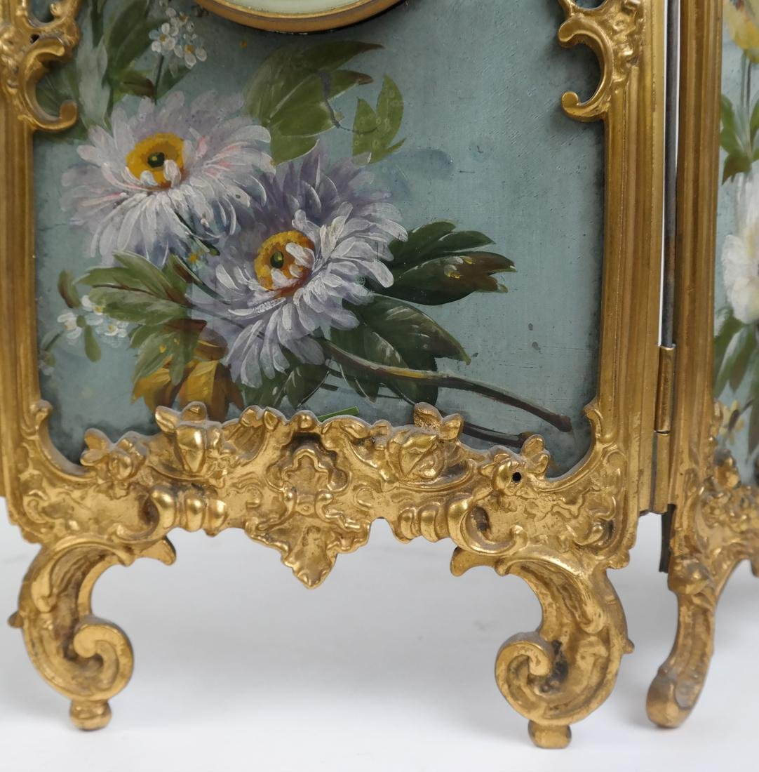 Rococo-Style Table Clock - 4
