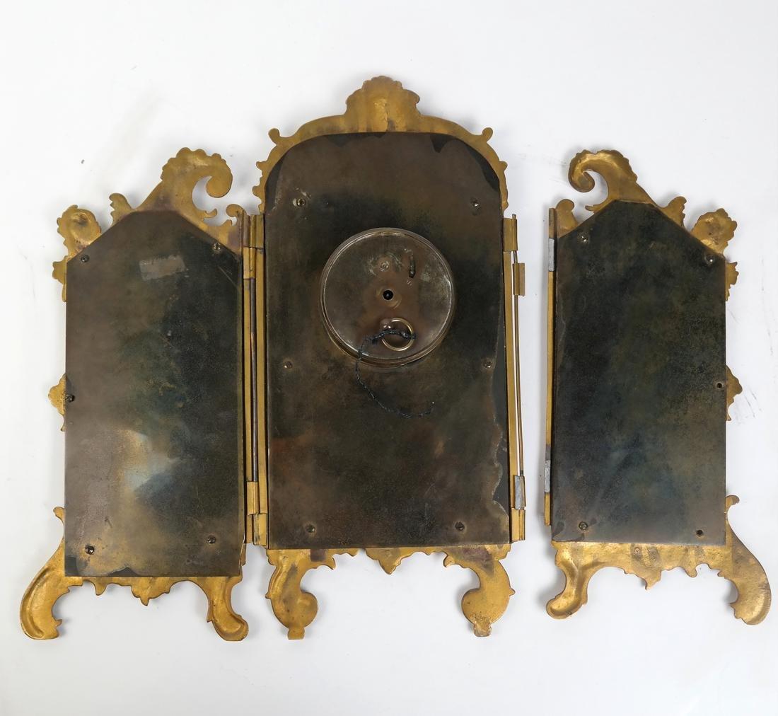 Rococo-Style Table Clock - 6