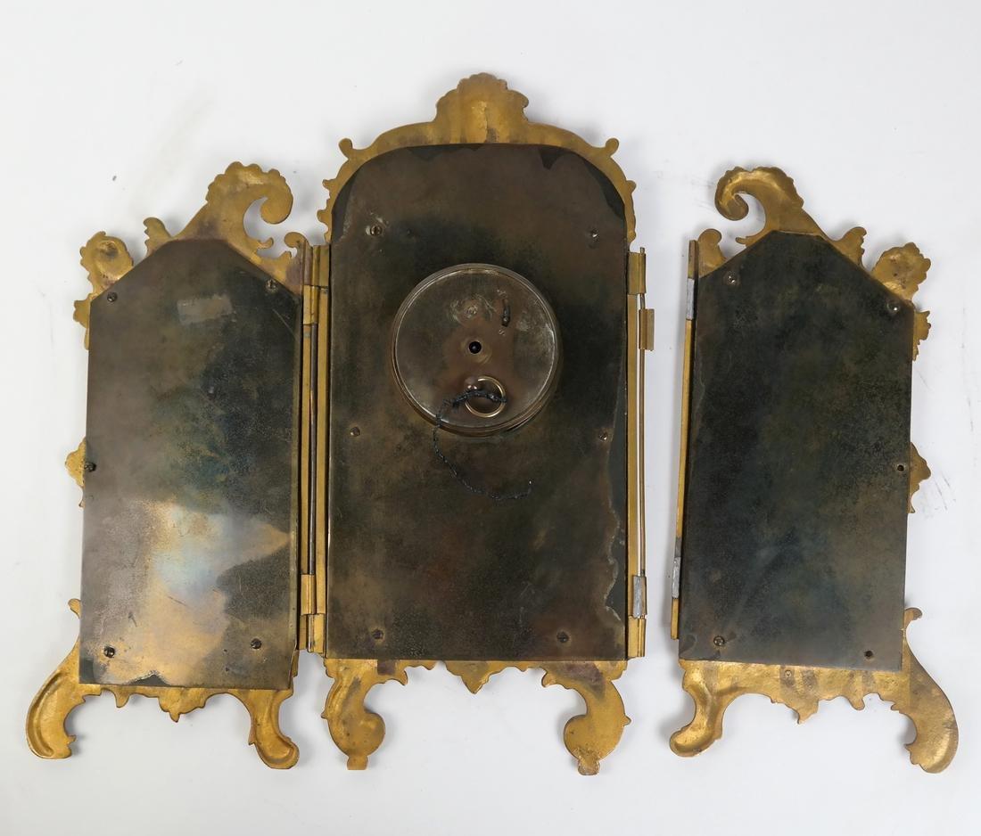 Rococo-Style Table Clock - 7