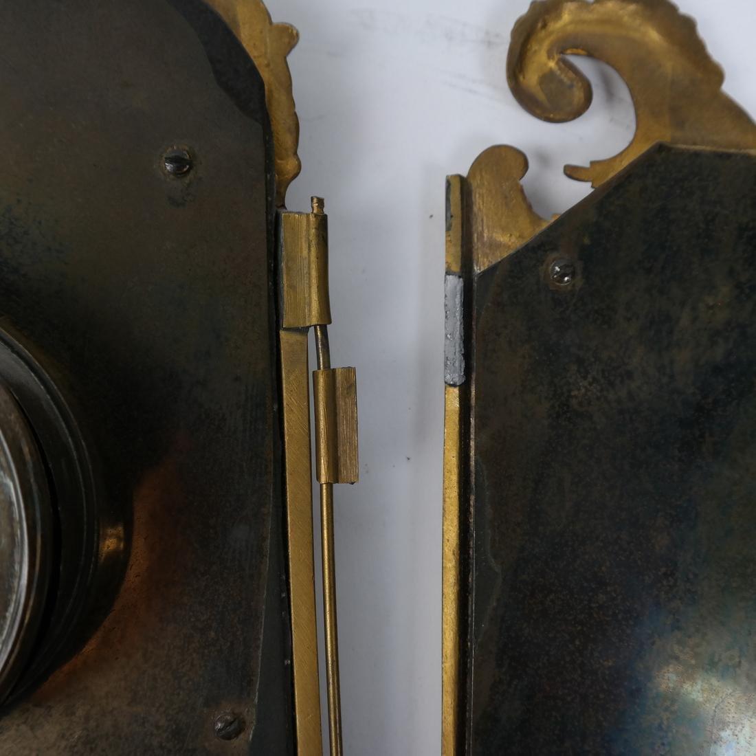 Rococo-Style Table Clock - 9