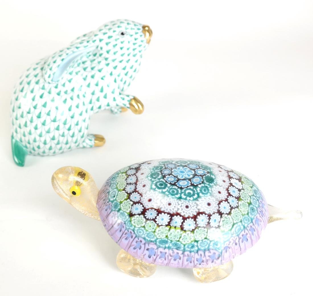 Two Animal Decorative Articles