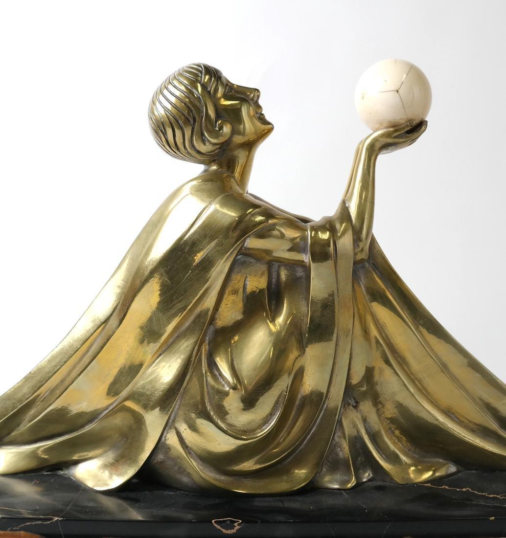 J. Lormier, Bronze Art Deco Sculpture - 3