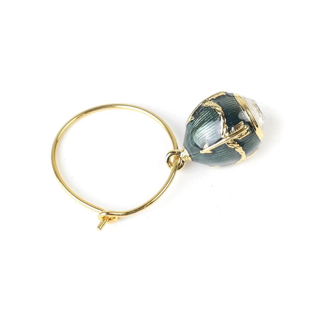 Six Wine Glass Charms, Fabergé - 7