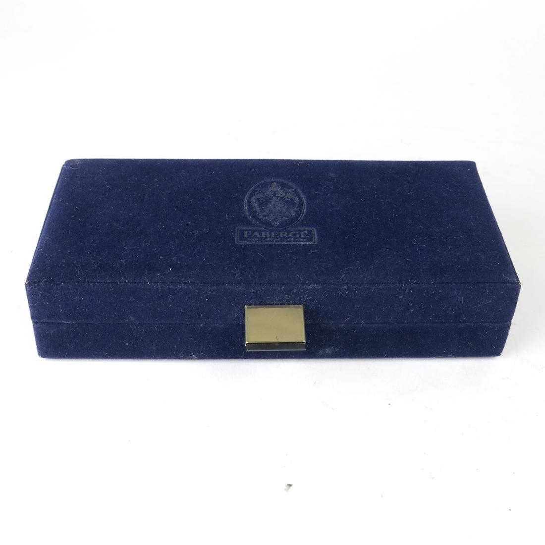 Six Wine Glass Charms, Fabergé - 8