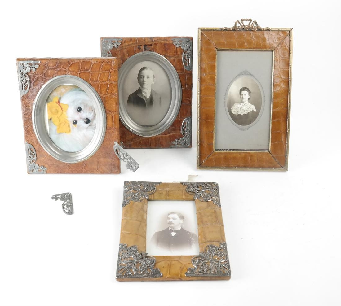 Four Assorted Picture Frames