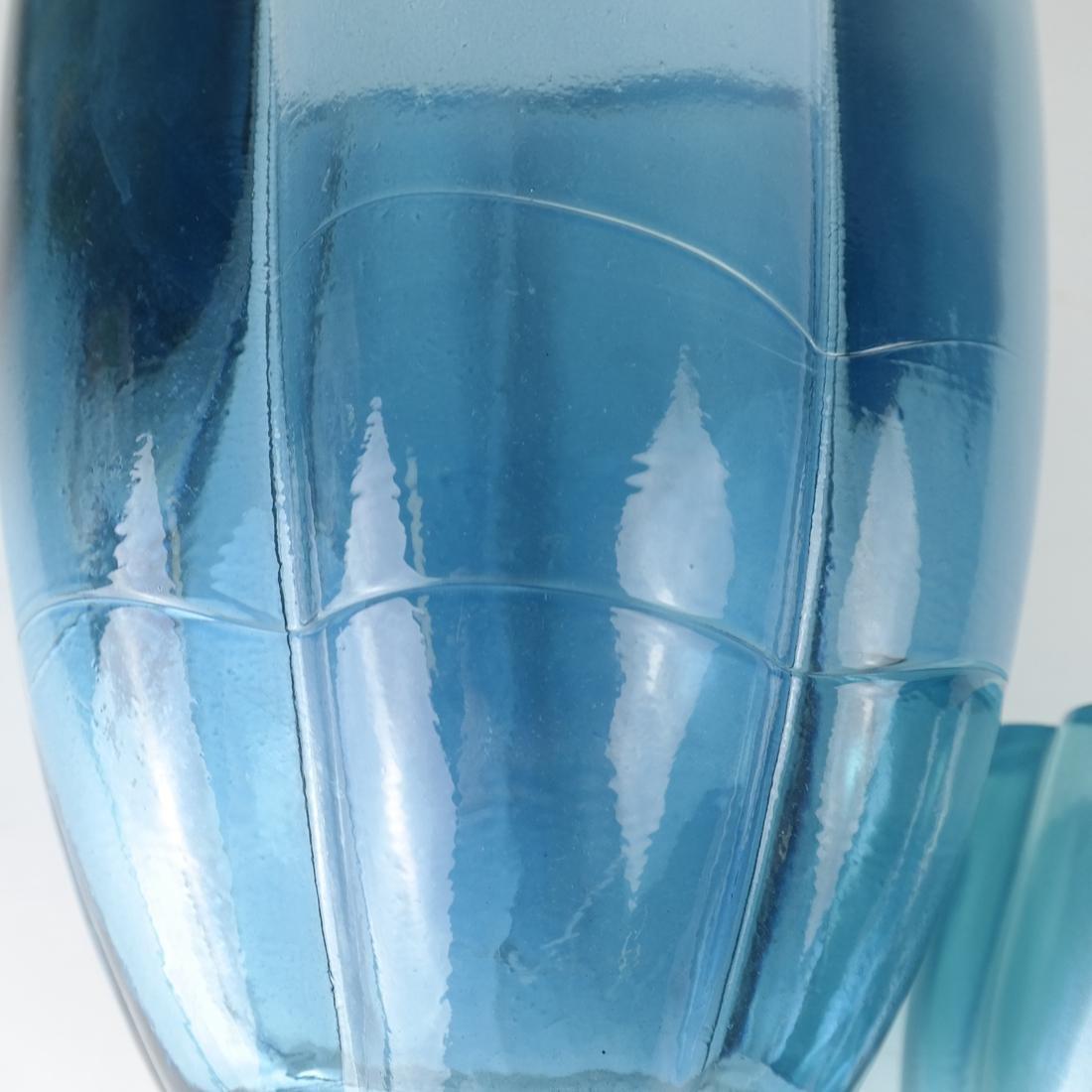 Two Aqua Glass Articles - 5