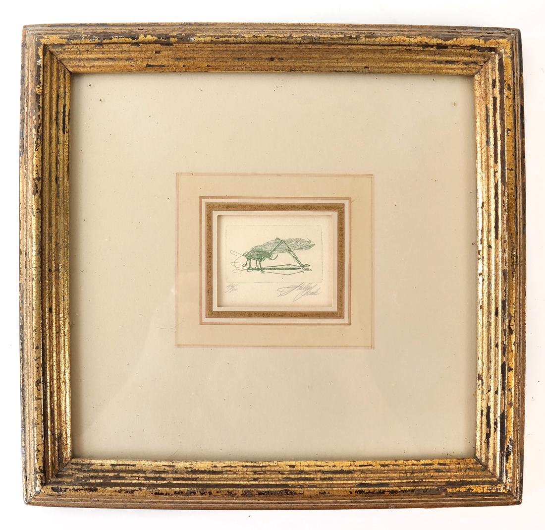 Sheldon Fink - Three Etchings of Insects - 8