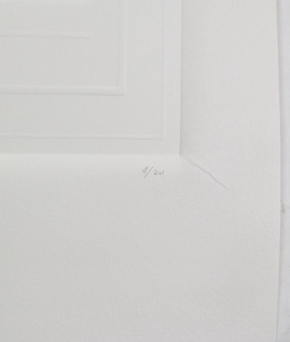 Shlomo Koren, 18 Minimalist Embossed Sheets - 10
