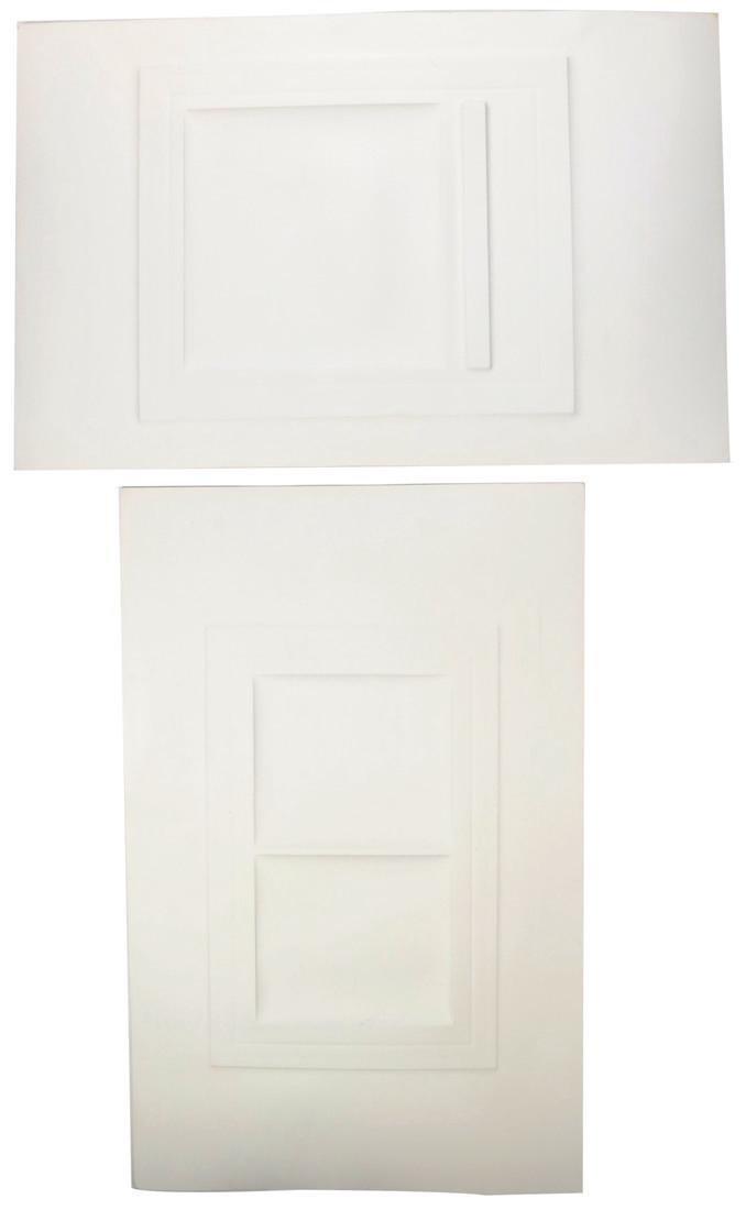 Shlomo Koren, 18 Minimalist Embossed Sheets - 3