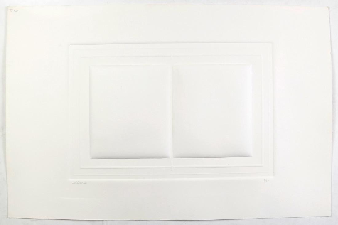 Shlomo Koren, 18 Minimalist Embossed Sheets - 4