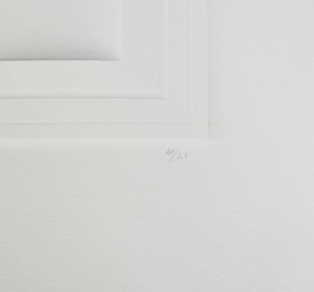 Shlomo Koren, 18 Minimalist Embossed Sheets - 5