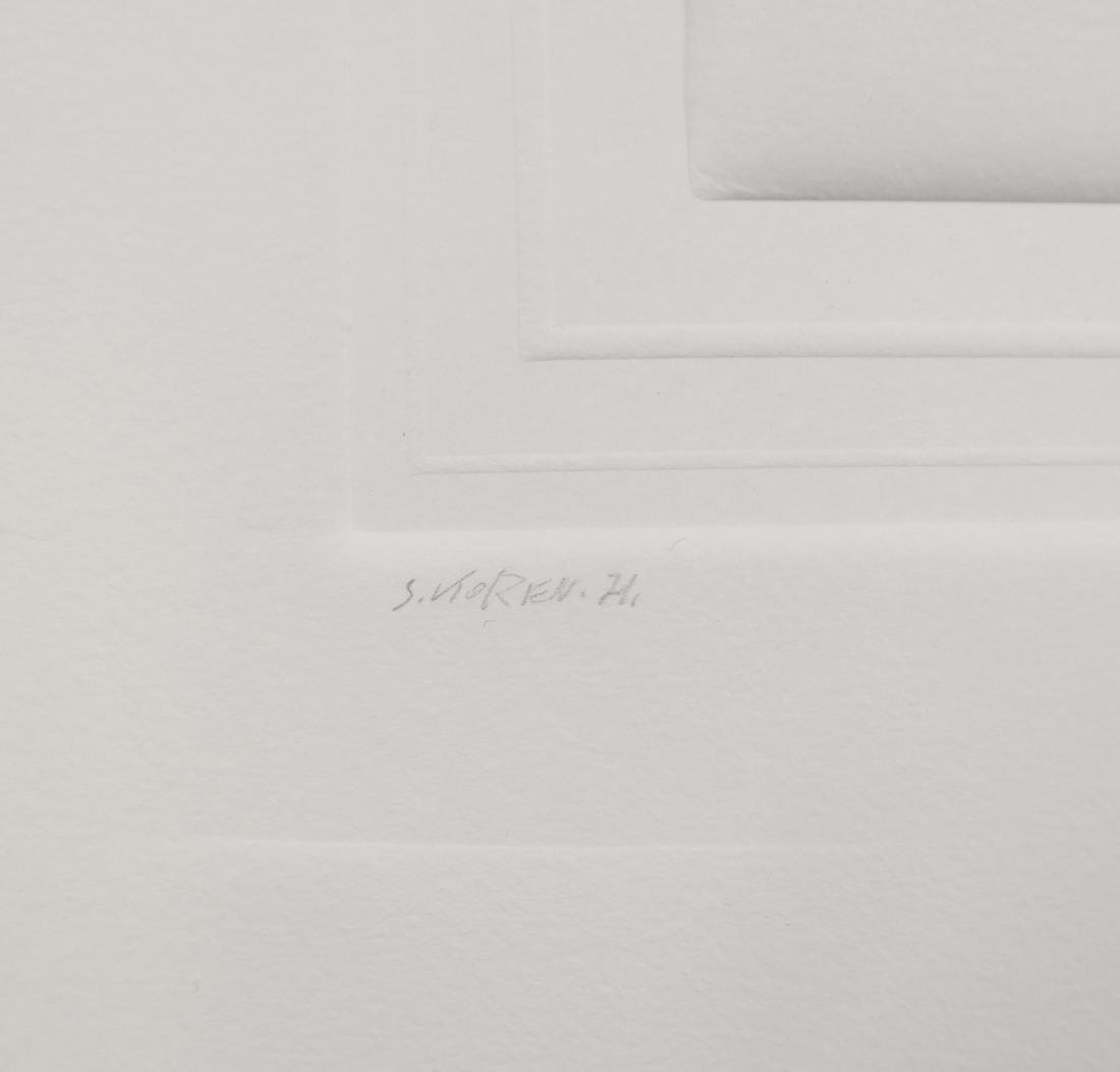 Shlomo Koren, 18 Minimalist Embossed Sheets - 6