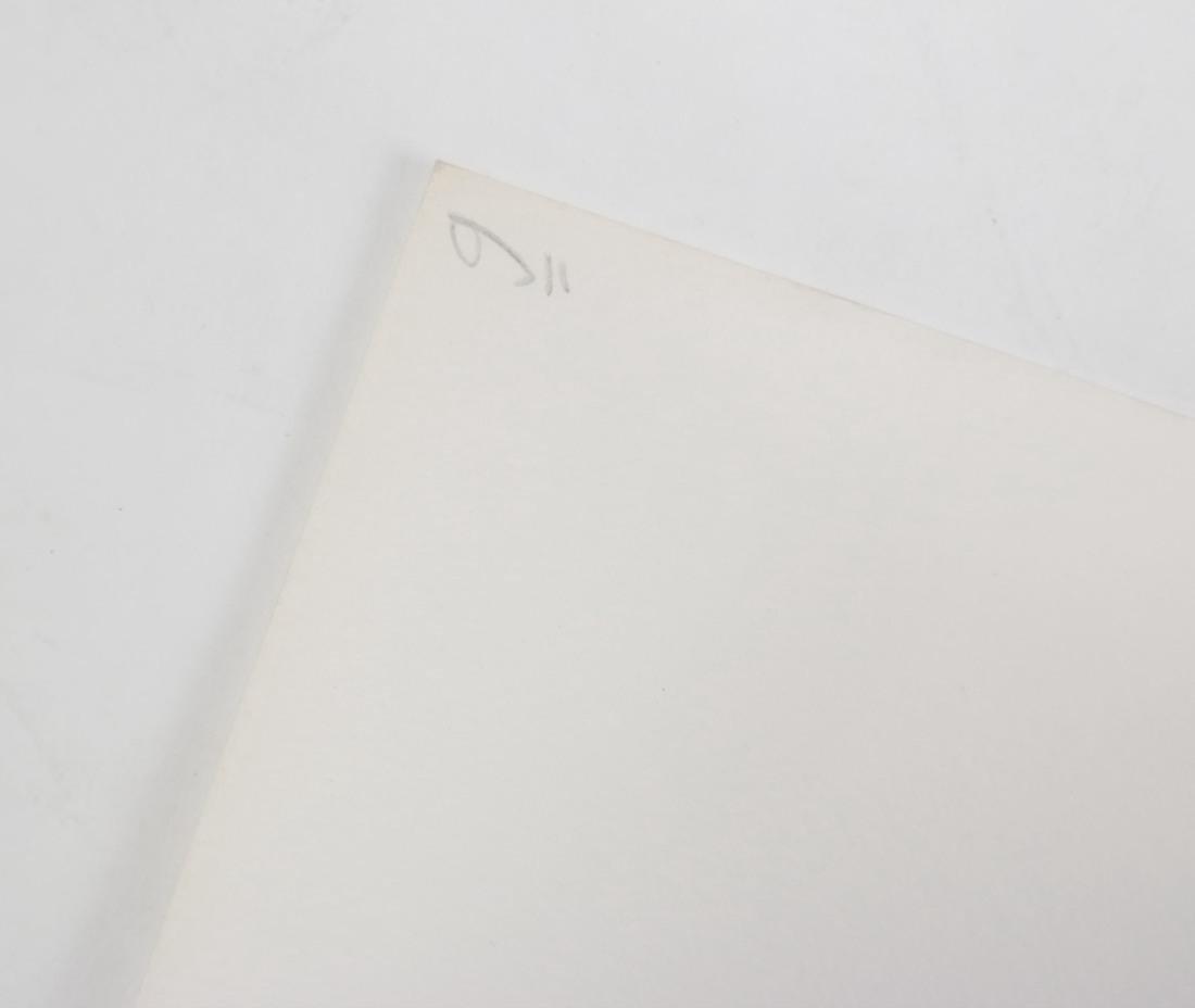 Shlomo Koren, 18 Minimalist Embossed Sheets - 7