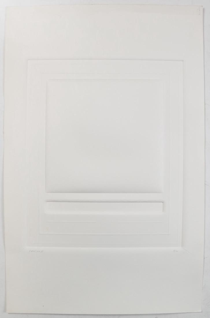 Shlomo Koren, 18 Minimalist Embossed Sheets - 9
