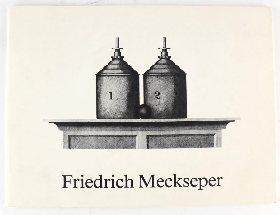 Friedrich Meckseper, Signed Etching and Catalog