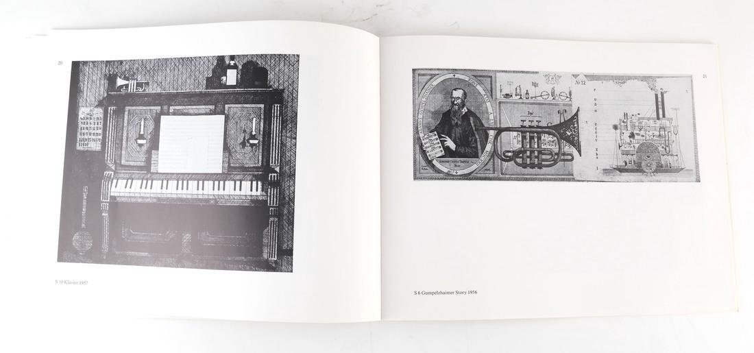 Friedrich Meckseper, Signed Etching and Catalog - 5