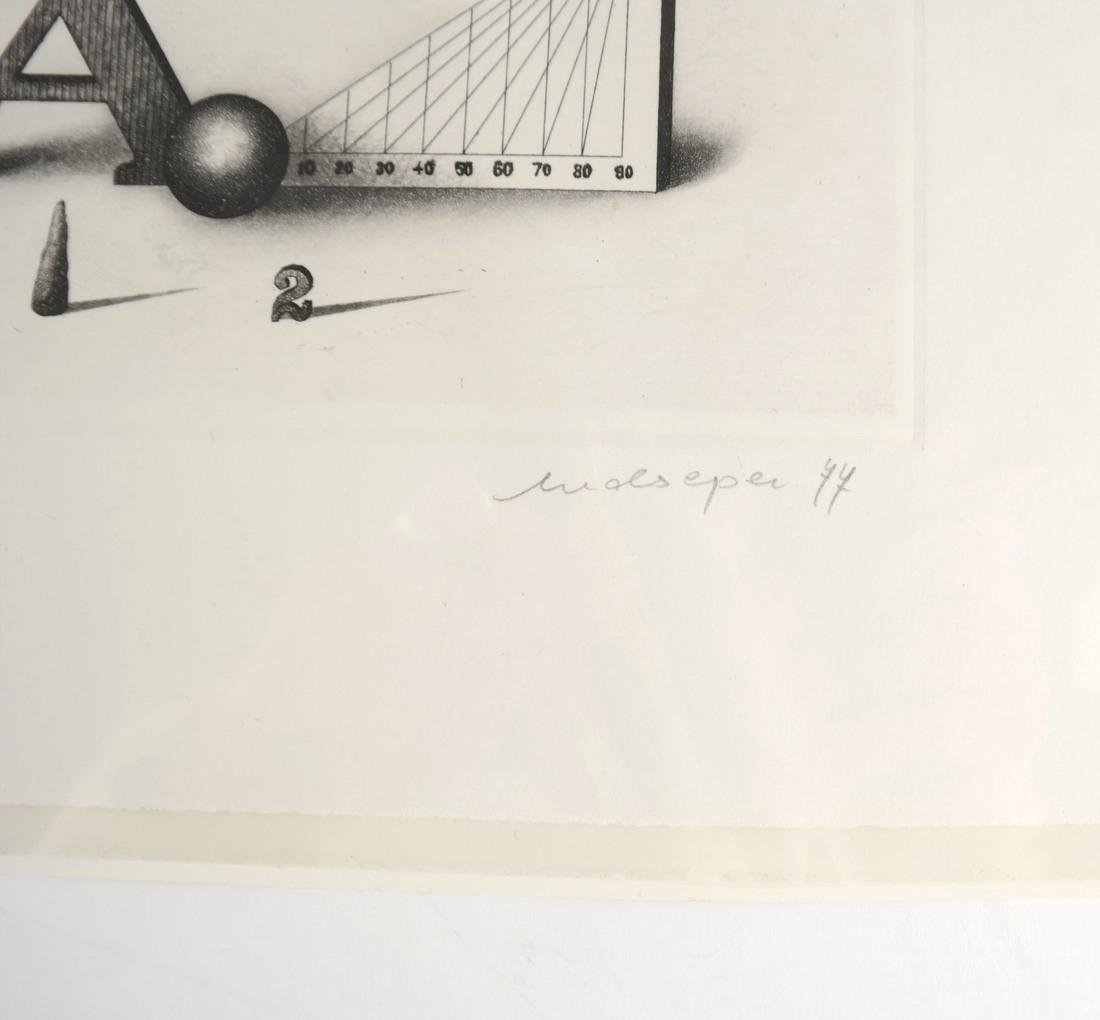 Friedrich Meckseper, Signed Etching and Catalog - 8