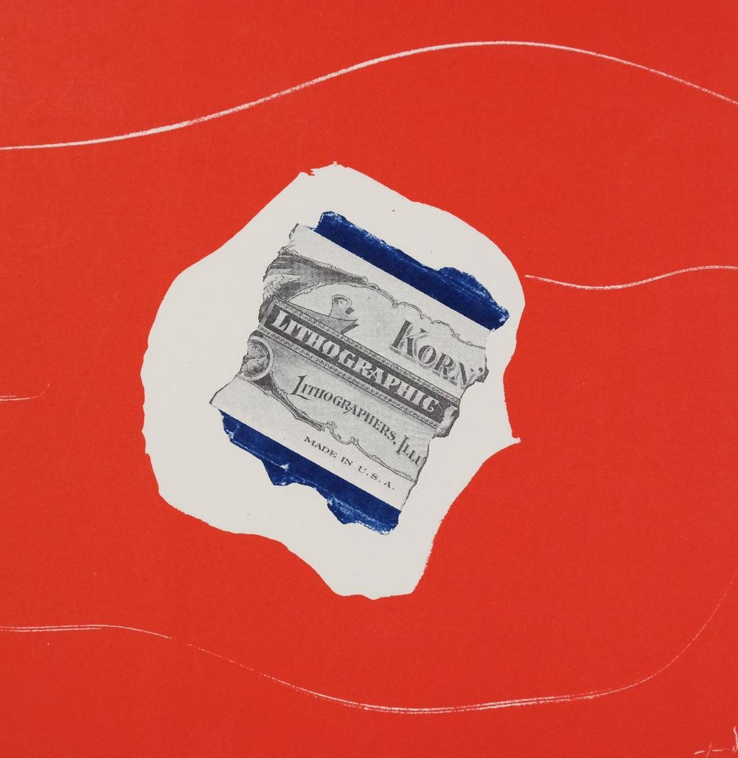 "After Robert Motherwell, ""Tricolor"" - Lithographs - 10"