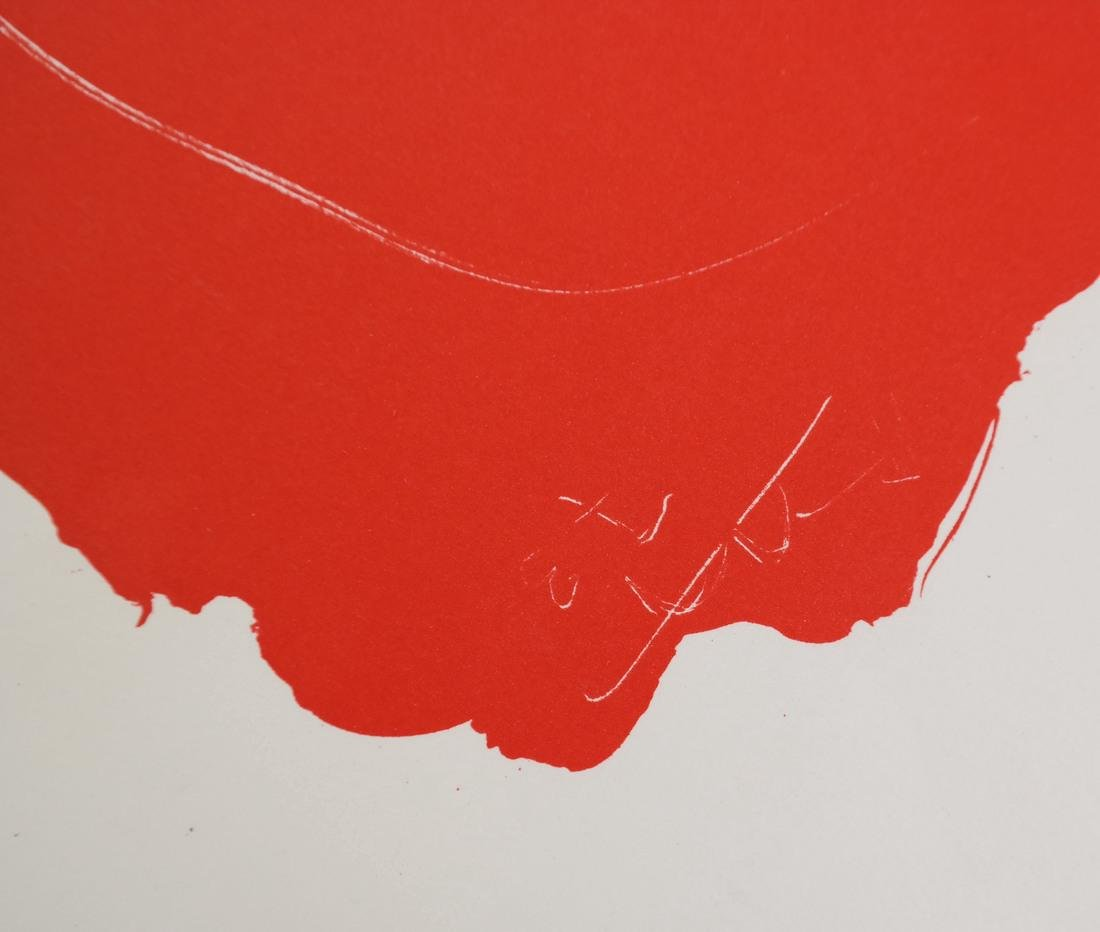 "After Robert Motherwell, ""Tricolor"" - Lithographs - 2"