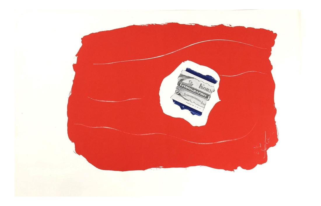 "After Robert Motherwell, ""Tricolor"" - Lithographs - 3"