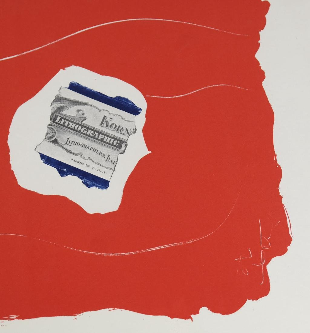 "After Robert Motherwell, ""Tricolor"" - Lithographs - 4"