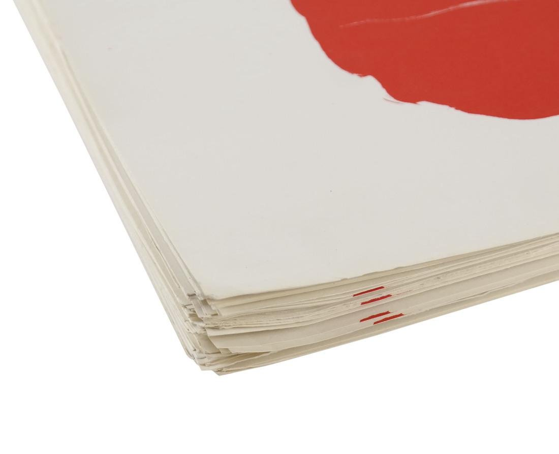 "After Robert Motherwell, ""Tricolor"" - Lithographs - 5"