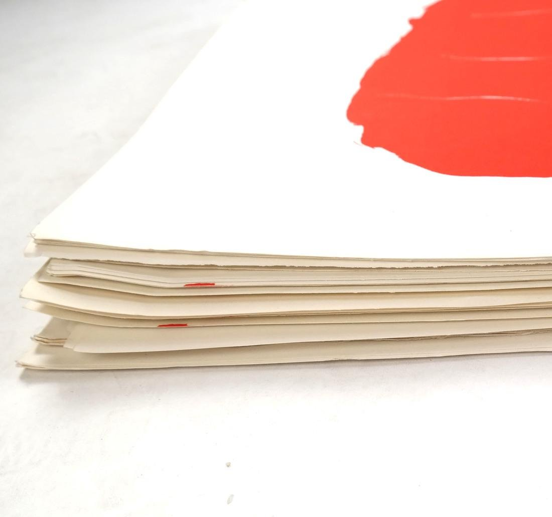 "After Robert Motherwell, ""Tricolor"" - Lithographs - 8"