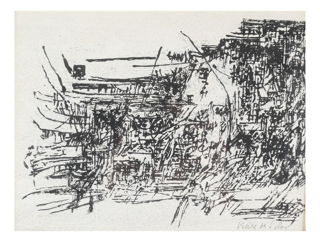 Maria Helena Vieira da Silva, Abstract Composition
